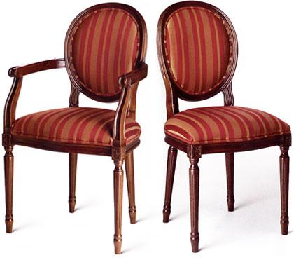 Silla y sillón de comedor ATLANTA