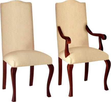 Sillas y sillones de comedor, modelo CALIFORNIA