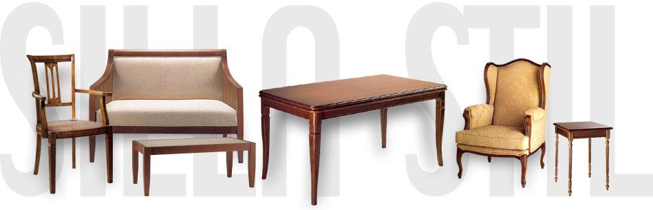 Silla stil sillas y sillones de comedor sal n dormitorio for Muebles auxiliares de comedor