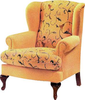 Sillones orejeros y relax virgilio tapizado for Sillones orejeros tapizados